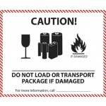 MT 9 Do Not Load or transport package if damaged