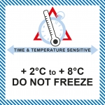 MT 25 Time & temperature +2/+8 Do not freeze