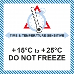 MT 27 Time & temperature +15/+25 Do not freeze